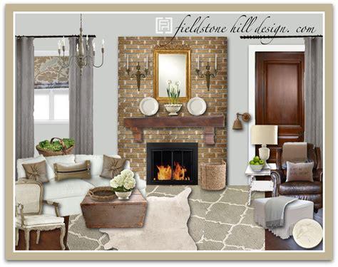 living room design board debram living room design board 1 fieldstone hill design