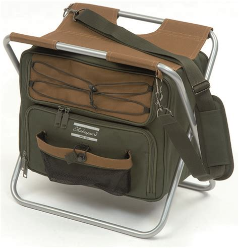 Fishing Stool With Bag by Shakespeare Stool With Cooler Bag Glasgow Angling Centre
