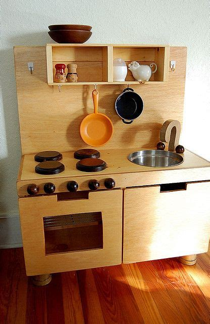Handmade Wooden Play Kitchen - wooden play kitchen handmade jen joes design how to