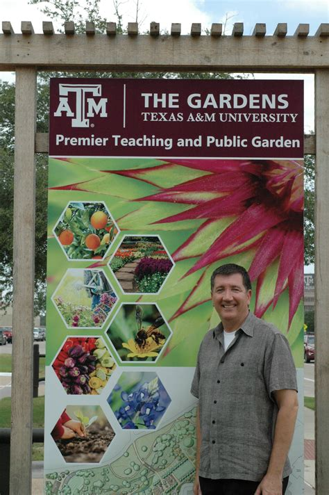 The Gardens Tamu joseph johnson to manage development of the gardens at a m agrilife