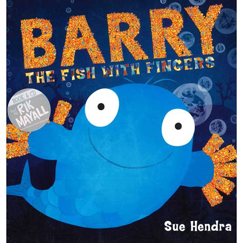 barry the fish with barry the fish with fingers book and cd by sue hendra children s cds at the works