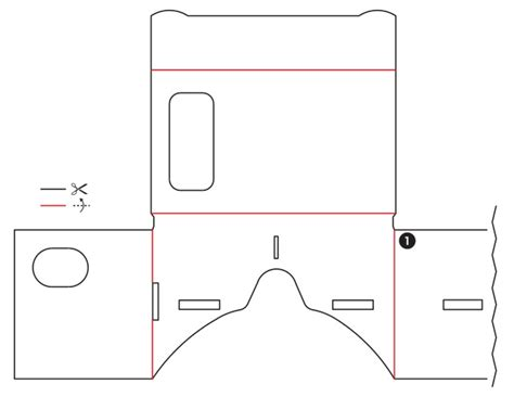 Google Cardboard Build It Yourself Vr Template Printable