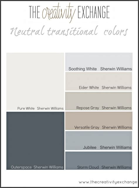 color choosing starting point for choosing paint colors for a home