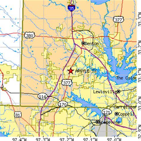 argyle texas map argyle texas tx population data races housing economy