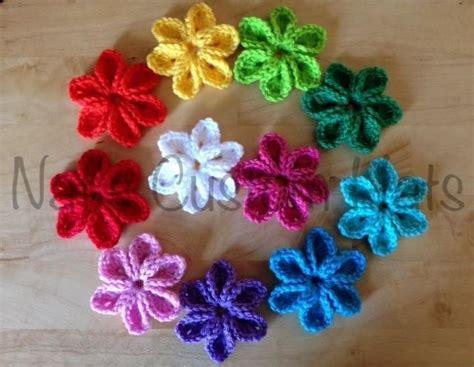 flower pattern names 4 name crocheting 6 petal flower crochet patterns