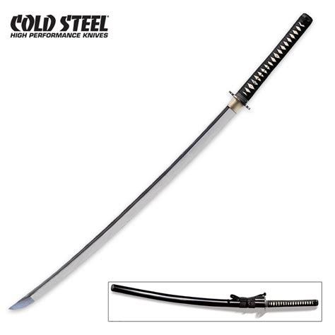 cold steel samurai swords cold steel o katana sword