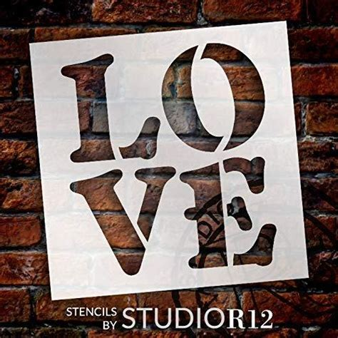 stencil  studior diy simple valentines day home decor studior stencils