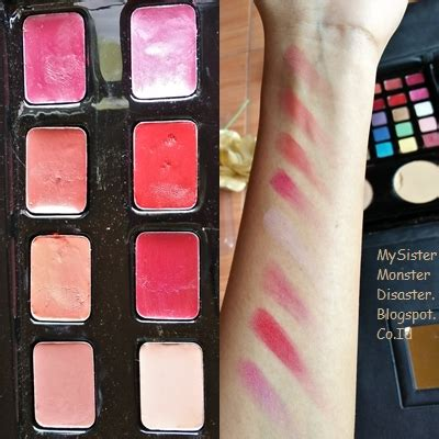 Eyeshadow Dan Blush On Wardah review wardah spesial edition makeup kit