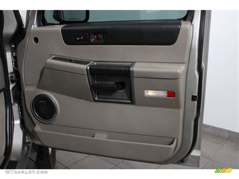 Hummer H2 Interior Door Panel 2003 Hummer H2 Suv Wheat Door Panel Photo 65098098