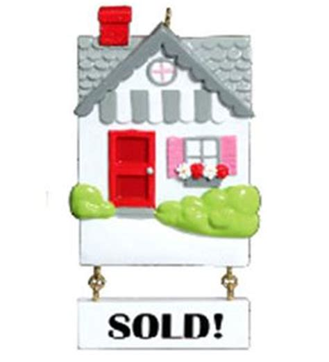 real estate personalized christmas ornament
