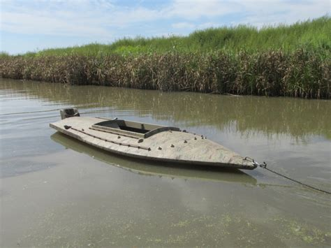 hunting from layout boat duck hunting layout boat and trailer for sale nex tech