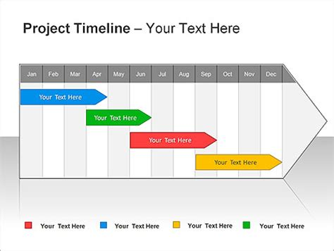 project timeline ppt diagrams chart design id