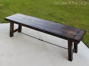 diy bench diy benchright farmhouse bench