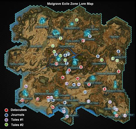 wildstar map wildstar malgrave exile zone lore guide dulfy