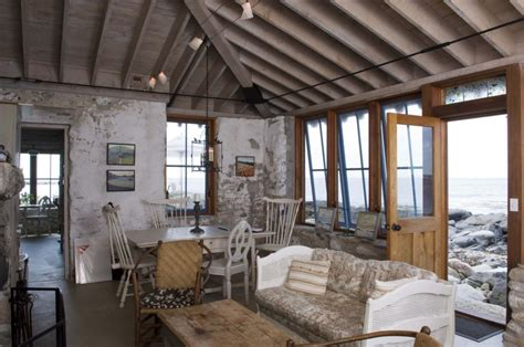 beach home interiors beach house rustic and industrial accent interior design