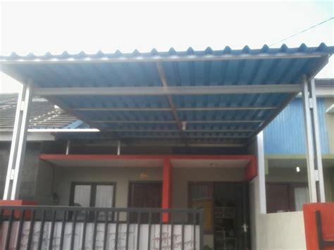 Besi Rak Batangan sell light steel canopy from indonesia toko project arena