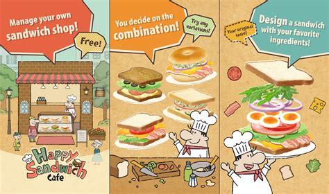 happy sandwich cafe  games
