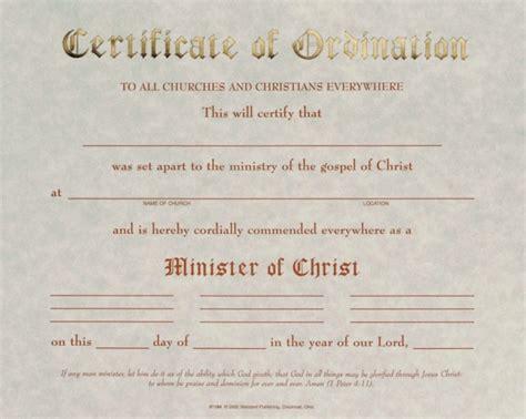 free ordination certificate template pastor ordination certificate oliveslate