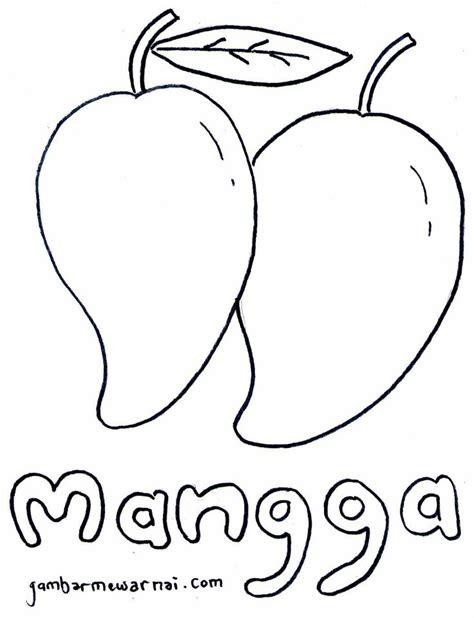 belajar mewarnai buah mangga buat anak barang untuk dibeli