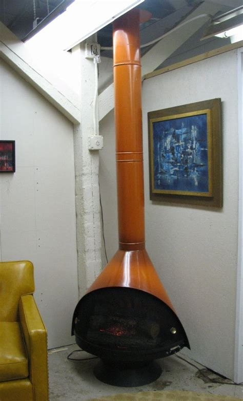 mid century modern electric fireplace mid century modern 1960 s electric fireplace
