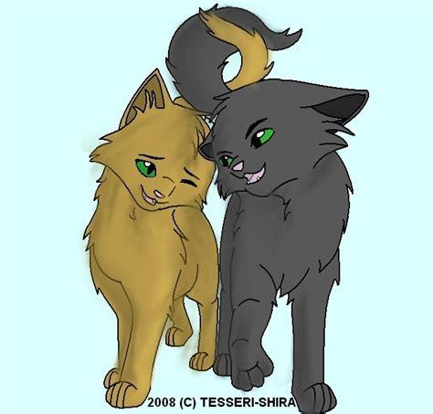 Leafpool x Crowfeather WARRIOR CATS WARRIOR CATS Leafpool And Crowfeather Mating