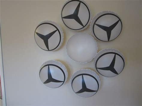 luchtbed op maat opblaasbare kussens met mercedes logo plastifix