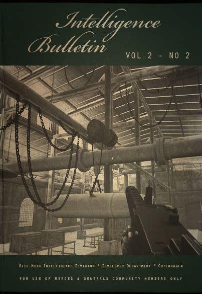 The Generals Vol 2 intelligence bulletin vol 2 no 2 news heroes