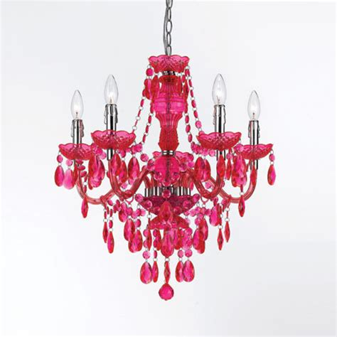 Mini Chandelier Pink Fulton Pink Chandelier By Angelo Home Modern Chandeliers
