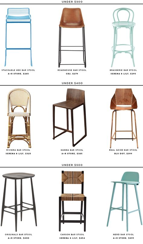 best bar stools 9 best bar stools under 500 183 savvy home