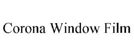 corona window film trademark  corona window film serial