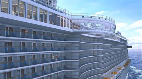largest cruise ship being built cruise ships keep the new attractions coming the