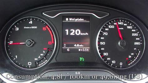 2013 audi a4 consumption 2013 audi a3 2 0 tdi fuel consumption test