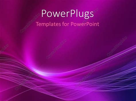 Powerpoint Template Abstract Energy Movement With Purple Free Abstract Purple Ppt Template
