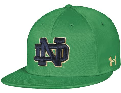 notre dame fighting armour green on field