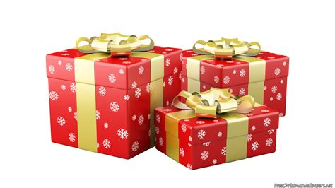 three red christmas gifts 1366 768 581511 inspiring