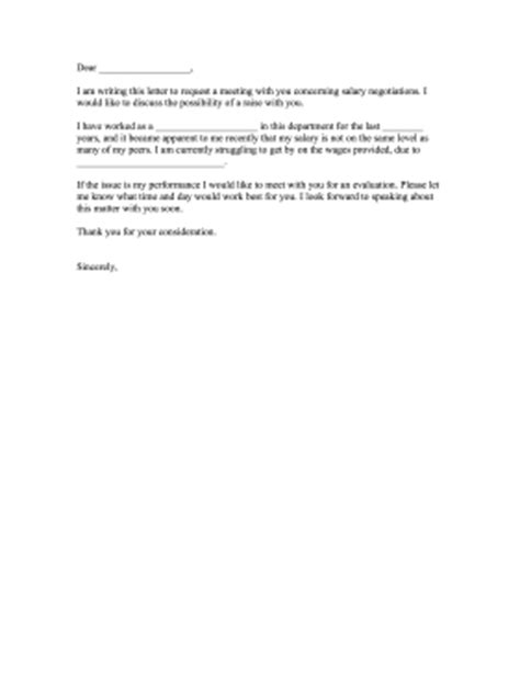 Low Appraisal Letter complaint letter for low salary