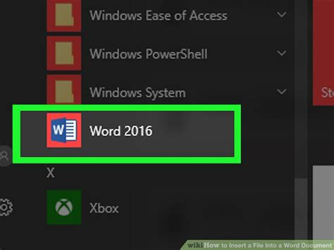 How To Insert Another Word Document In Word
