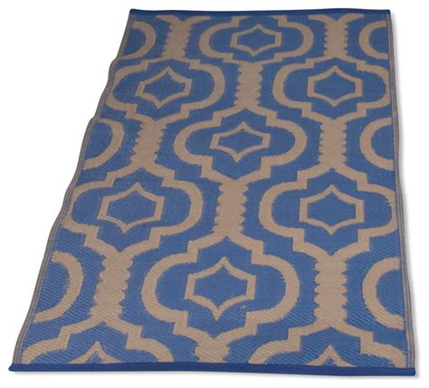 3x5 Outdoor Rug Homesuite Outdoor 5x8 Rug With Bonus 3x5 Runner Trellis Blue Outdoor Rugs By Michael Anthony