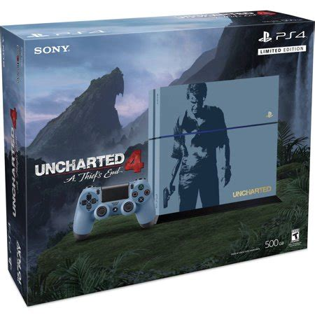 playstation 4 console bundles playstation 4 limited edition uncharted 4 console bundle