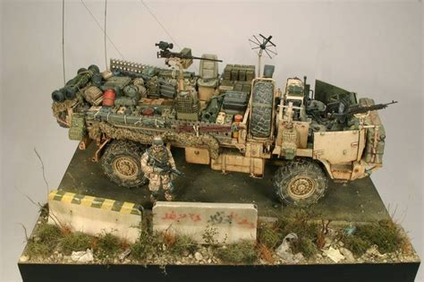 modern army jeep by modelismo y modelistas modern military models in