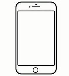 Cell Phone Template by Here Is A Free Template Of An Iphone Or Smartphone