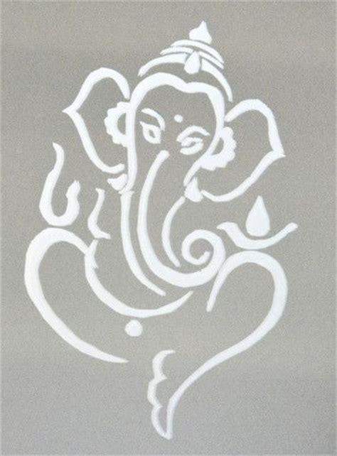 ganesh tattoo stencil large ganesh stencil google search interior design