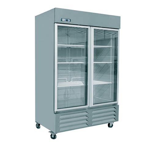 Glass Door Commercial Refrigerator Eq Commercial Kitchen 2 Glass Door Merchandiser