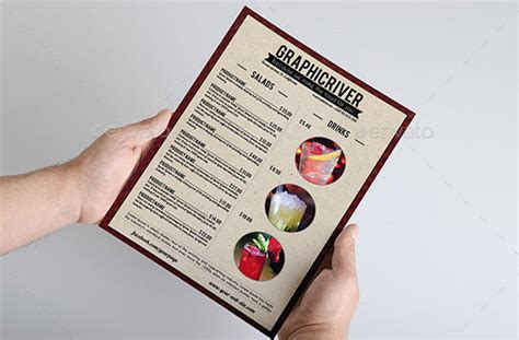 restaurant menu templates photoshop 40 effective psd restaurant menu design templates web