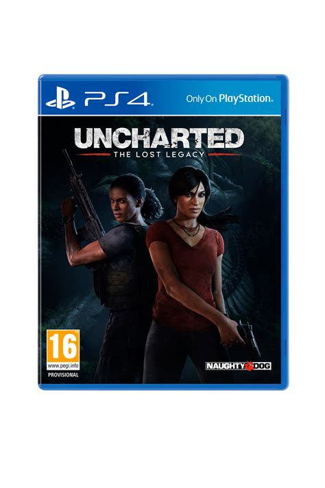 Bd Ps4 Uncharted 4 Se sony uncharted the lost legacy spel ps4 elektronik ellos se