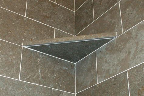 How To Build A Shelf In A Shower by Shower Corner Shelf Install A Tile Soap Dish Icreatables