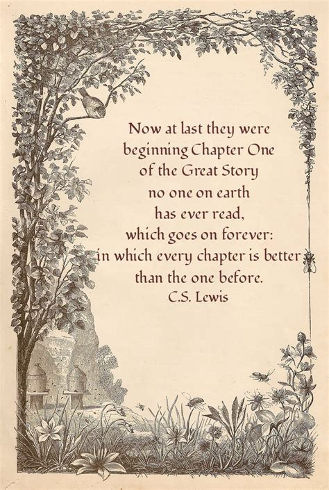 new beginning cs lewis quotes christian quote birdie blessings eternal destination