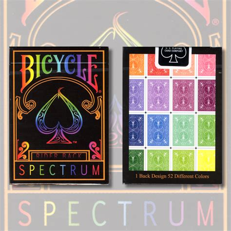 Deck Of Cards Magic Tricks by Spectrum Deck By Us Playing Card Trick Magic Tricks Ebay