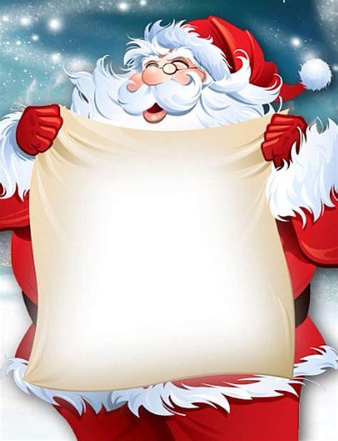 printable santa paper santa claus christmas note paper free printable holiday