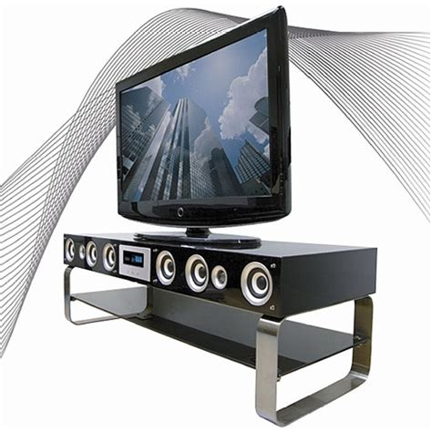 the onei solutions speaker tv stand looks great has good